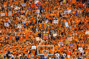 Syracuse's students will have new ticketing options for next semester, split across four tiers.